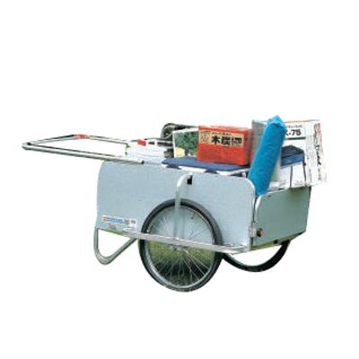 ハラックス RP-5400NP リヤカー 運搬車 ラクラクポーター 【折り畳み式】 【100キロ積載】 【ノーパンクタイヤ】 【メーカー直送・代引不可】