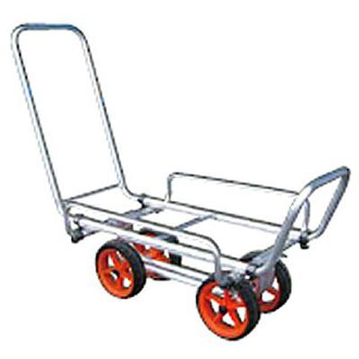 アルミス アルミ超軽量ハウスカー (4輪車) 【40キロ積載】 【コンテナ1ケ積】 【ホイール式運搬車】 【 ハウスカー】 【代引不可】