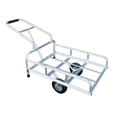 アルミス アルミリヤカー4型 (2輪車) 【80キロ積載】 【 ホイール式運搬車】 【 農作業用運搬車】 【 リヤカー】 【 アルミ運搬車】 【代引不可】