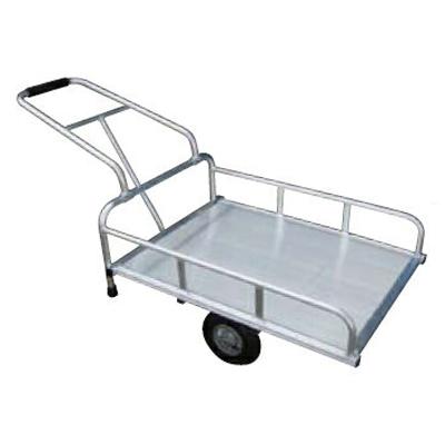 アルミス アルミリヤカー4型FT (2輪車) 【80キロ積載】 【 ホイール式運搬車】 【 農作業用運搬車】 【 リヤカー】 【代引不可】