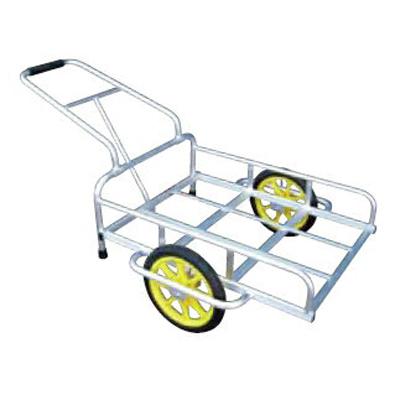 アルミス アルミリヤカー14型 (2輪車) 【80キロ積載】 【 ホイール式運搬車】 【 農作業用運搬車】 【 リヤカー】 【代引不可】