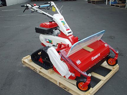 印象のデザイン ハンマーナイフモア:アグリズ店 HRC802/B モア 共立 自走式草刈機-ガーデニング・農業
