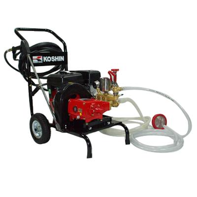 高圧洗浄機 エンジン式 【工進 DM-30(ホース付)】 清掃 洗車 農業用洗浄機