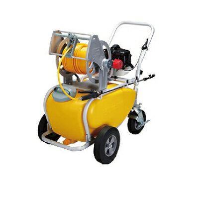 工進 2サイクルエンジンセット動噴 MSV-E2R50T【軽量6mmホース50m・専用50Lタンク付き】(噴霧器 噴霧機)