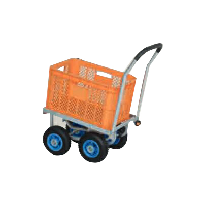 【個人宅配送不可】ハラックスアルミ運搬車 CHK-250 アルミ台車 アルミ四輪車 ハウスカー 運搬車【60キロ積載】【メーカー直送・代引不可】