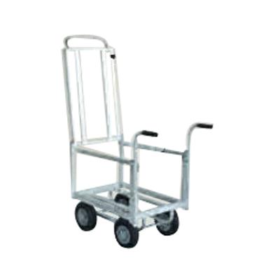 【個人宅配送OK】ハラックスアルミ運搬車 CHR-30-2 アルミ台車 アルミ四輪車 ハウスカー 運搬車【100キロ積載】【メーカー直送・代引不可】