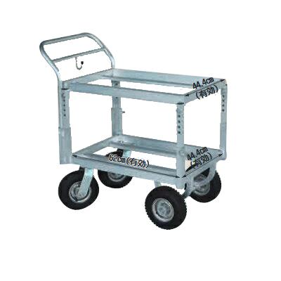 【個人宅配送OK】ハラックスアルミ運搬車 CHR-30-2J【メーカー直送・代引不可】