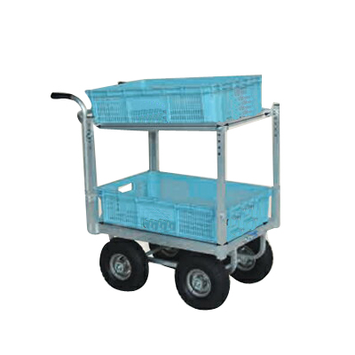【個人宅配送OK】ハラックスアルミ運搬車 CHR-30-3【メーカー直送・代引不可】