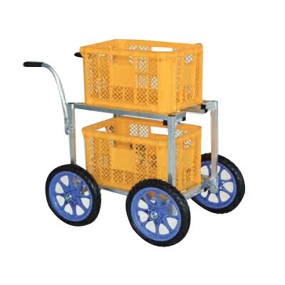 【個人宅配送OK】ハラックスアルミ運搬車 CHR-40-14【メーカー直送・代引不可】
