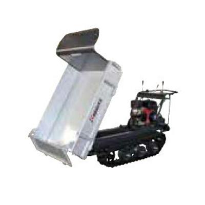 共立 クローラー運搬車 NKCG110D-V 【箱型3方開き】 【油圧ダンプ】 【最大積載量500kg】