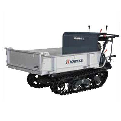 共立 クローラー運搬車 NKCG110-V 【箱型3方開き】 【手動ダンプ】 【最大積載量500kg】