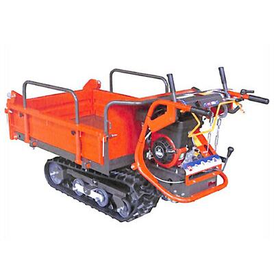 ウインブルヤマグチ クローラー運搬車 PX42 (スティックレバー式サイドクラッチ)(三方開閉式)(最大積載量400kg)(手動ダンプ)