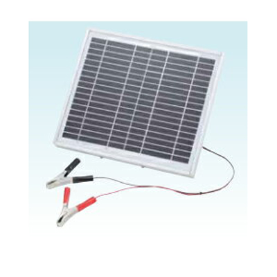 末松電子 電気柵 資材 ソーラーチャージャー10W (バッテリー別売) 電柵資材 電気牧柵資材