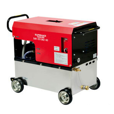 スーパー工業 高圧洗浄機 SAR-2015N2-60 モーター式高圧洗浄機 【代引不可】