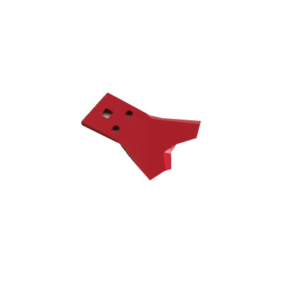 【三陽金属】 乗用草刈機用替刃 Wカット60 上刃 【ボルトカバー×2個・取付ボルトセット×2個付】