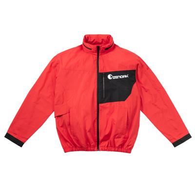 ゼノア ランキング総合1位 クールジャケットPRO ついに入荷 ジャケットのみ レッド バッテリーウェア用 ファンキット別売り バッテリー LLサイズ