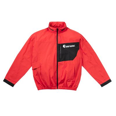 ゼノア 無料サンプルOK クールジャケットPRO ジャケットのみ レッド ファンキット別売り バッテリー バッテリーウェア用 内祝い 3Lサイズ
