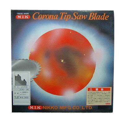 【草刈機 刈払機用】 【チップソー】 【MIK】 UCR型 【窓付き】 【230mm】 【36枚刃】 25枚入
