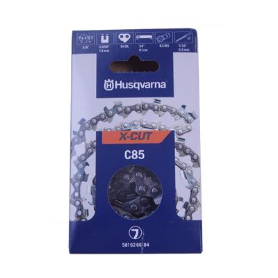 【チェンソー・チェーンソー用】【ハスクバーナ】ソーチェン X-CUT C85-72E【20インチ】 【73LPX互換チェン】10本入り