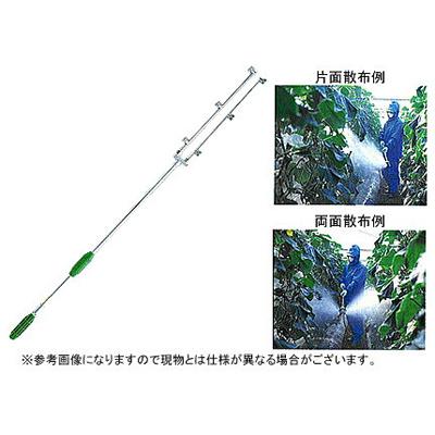 【ノズル・噴口】ヤマホ 両サイドノズル2型(G1/4)【噴霧器・噴霧機・動噴・防除用】