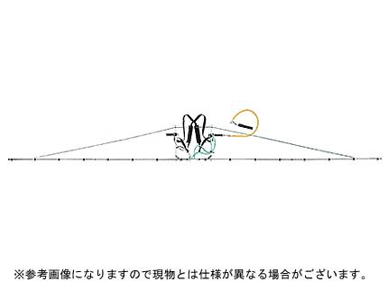 【ノズル・噴口】ヤマホ 中持ブームG型16頭口新広角スズランタイプ(G3/8)【噴霧器・噴霧機・動噴・防除用】