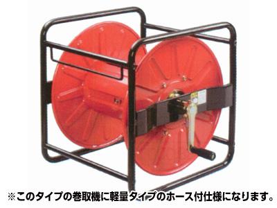 【永田】ストロングリール角ホースセット SLKH-100(8.5mm×100m)(G1/4)