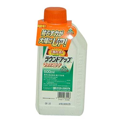 【農薬】ラウンドアップ マックスロード 500cc【6本入り】【園芸用 除草剤】