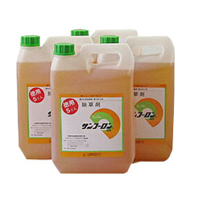 【除草剤】 サンフーロン 5L 【4本入】 + サンフーロン 500ml 1本セット 【農薬】 旧ラウンドアップのジェネリック品