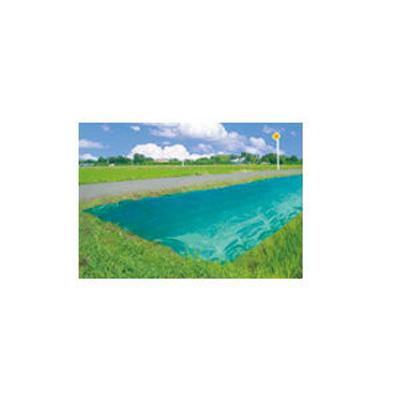 ダイオ化成 防草シート 緑 ダイオ畦クロス 1m×100m【代引不可】