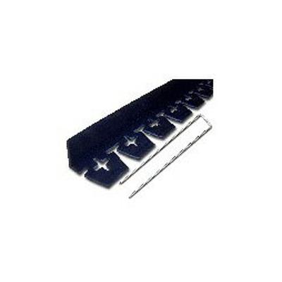 リサイクルエッジング ブロック見切 ブラック 4セット 21.6m分【代引不可】