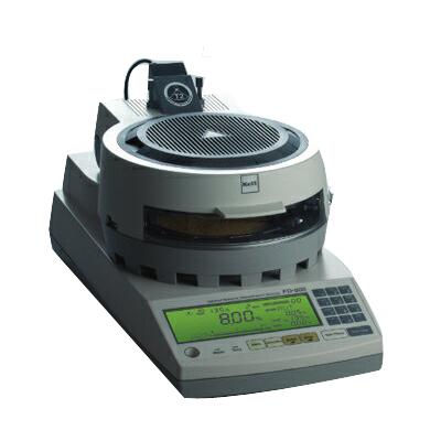 Kett ケット科学(ケツト科学研究所) 乾燥減量法 赤外線水分計 FD-800 【代引不可】