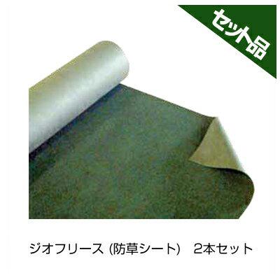 前田工繊 ジオフリース 防草シート BSN-060M 緑 1×50m 2本入
