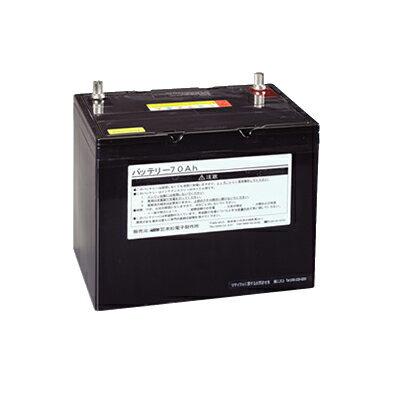 末松電子 電気柵 資材 サイクル式 バッテリー70Ah 外部バッテリー