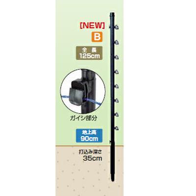 2020年8月19日より順次発送予定 タイガー 電気柵 資材 TBS-PF20125 ガイシ付FRP支柱 FRP125 ロング 20本入 (20mm径×長さ125cm) アニマルポール FRPロング TAK-PFI002