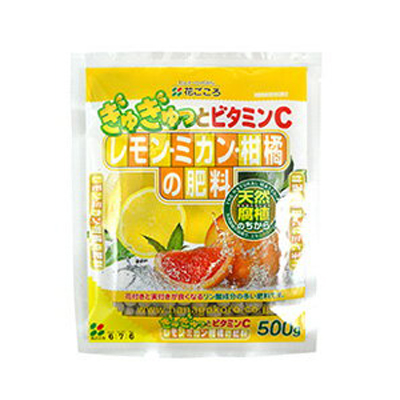 花ごころ レモン・ミカン柑橘の肥料 500g 40セット