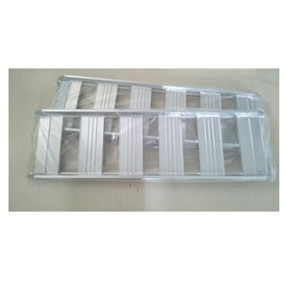 1t アルミブリッジ 2本セット シンセイ アルミブリッジ(あぜこし用) 120-30-1.0【ツメ式】【長さ1200×幅300(mm)】 【最大積載1t/セット(2本)】 道板 歩み板 ラダー