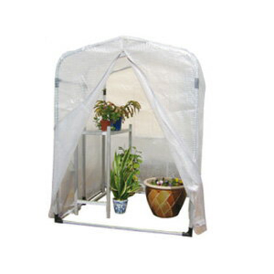 アルミス アルミ フラワー温室 0.5型 1200×1300×1600mm 農業資材 園芸用品 ビニール温室 家庭菜園