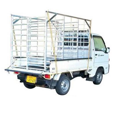2020年8月19日より順次発送予定 ホクエツ オールアルミ製 苗コンテナ ナエコン ALH-96 平型 96枚積 農業資材 水稲育苗 田植え 軽トラ