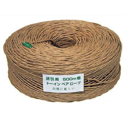 東京インキ 誘引・結束ロープ トーインペアロープ 3.5mm×500m 8巻入