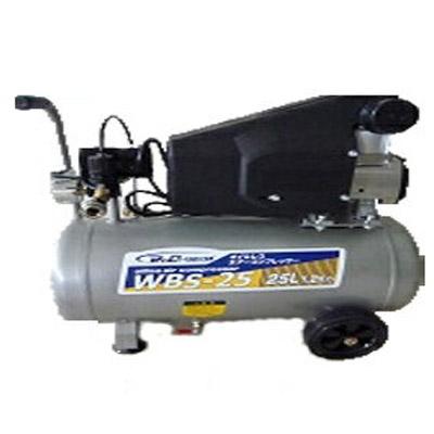 【一年保証つき】【メーカー直送】オイルレス 電動エアーコンプレッサー WBS-25【25Lタンク】【100V・50Hz/60Hz兼用】【4571191190840】