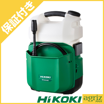 【プレミア保証付き】 ハイコーキ(HIKOKI) コードレス高圧洗浄機 AW18DBL(NN)(リチウムイオン電池、急速充電器別売り)
