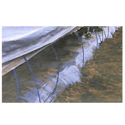 【代引不可】  東罐 トーカン 保温用 シルバーポリトウ#100 厚さ0.05mm 巾180cm 100m巻 2本入
