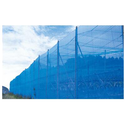 シンセイ 防風ネット (青) 4mm目 4m×50m 【5本セット】 70g/m2と目付け量(原料使用量)が多く、耐久性に優れた高品質な防風網! 農業資材 園芸用品 家庭菜園 ガーデニング DIY