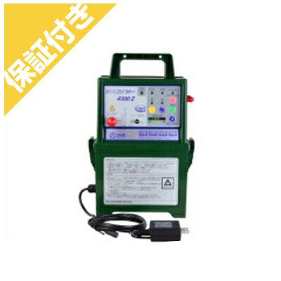 【プレミア保証付き】 タイガー アニマルキラー 電気柵 本器 4300DC2-AD(屋内型)(ACアダプタータイプ) 電気さく 電柵 電気牧柵