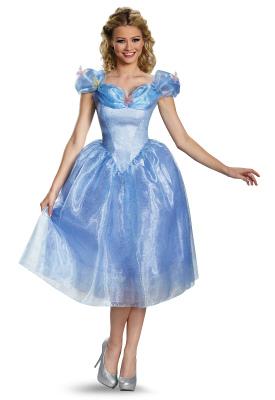 ハロウィン コスチューム ディズニー DISNEY シンデレラ Cinderella ドレス 大人M 87039B cs0822 dp0822