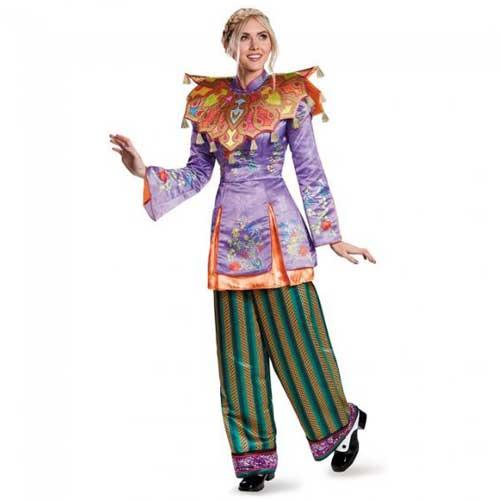 ハロウィン コスチューム ディズニー DISNEY アリス アジアンルック プレステージ 大人女性用 10158N cs0822 aw0822