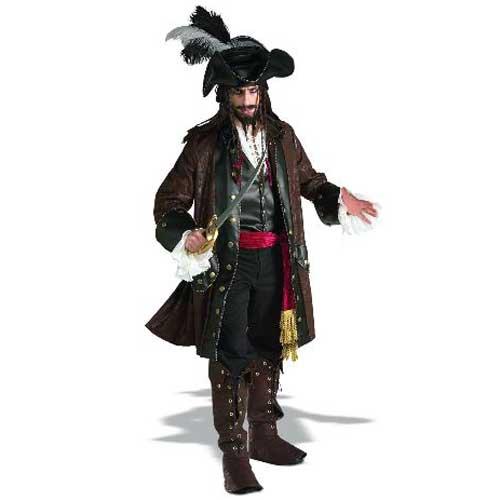 ハロウィン コスプレ カリブの海賊 デラックス 大人用  56150 pj0822