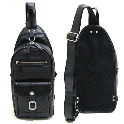 VALENTINO SABATINI 豊岡製鞄 バレンチノ・サバティーニ ボディバッグ ワンショルダー 日本製(兵庫県豊岡) 4966BK