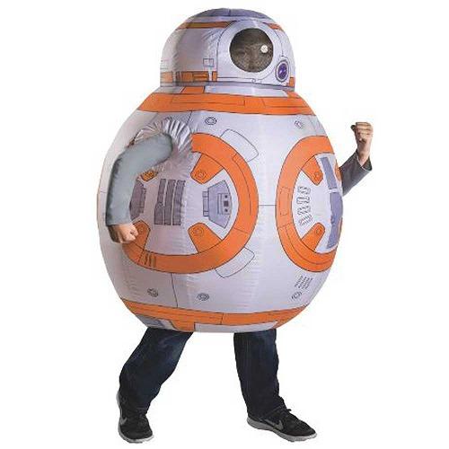 ハロウィン コスプレ スターウォーズ フォースの覚醒 BB-8 膨張式コスチューム 子供用 630009