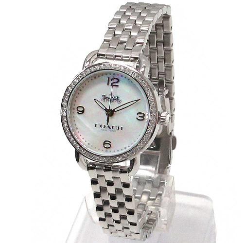 コーチ 時計 レディース COACH アウトレット デランシー レディース ウォッチ シルバー 腕時計 14502477 kesan2019